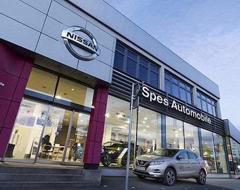Spes Automobile Graz Eggenberger Gürtel - Nissan